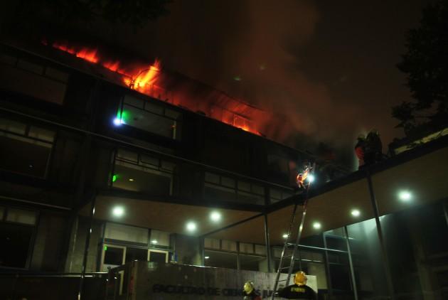 Cuarto piso destruído - Gentileza Alejandro Lara