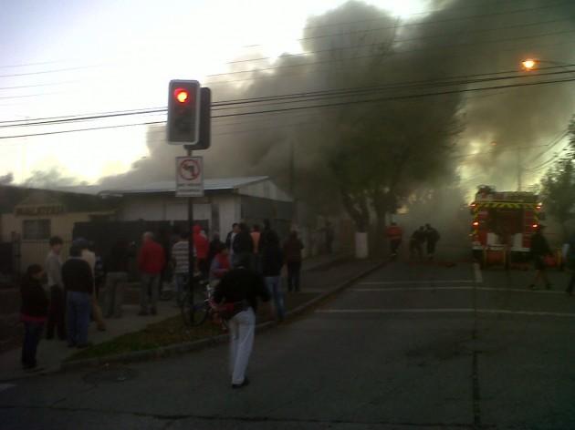 Incendio   Nestor Aburto