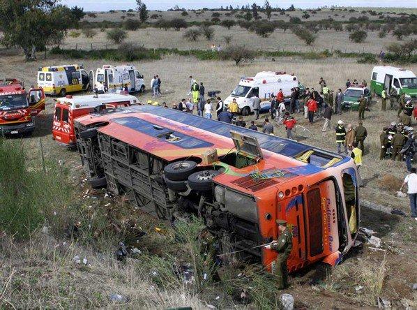 Accidente en Ruta del Itata | Paolo Martinez vía Facebook