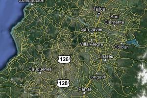 Región del Maule | Google Maps