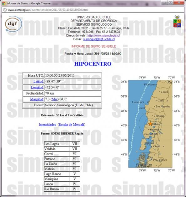 (2) Sismología Chile