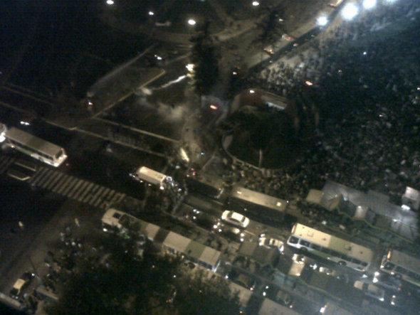 Plaza Italia | @IgnacioCz vía Twitter