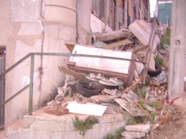 Acumulación de escombros | Eugenia