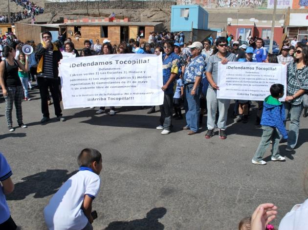 Tocopillanos se movilizan | Domingo Olivares