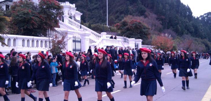 Desfile escolar Combate Naval de Iquique
