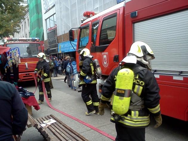 Simulacro de incendio   Jorge Leal