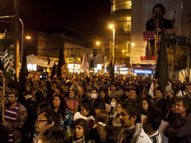 Marcha contra las termoeléctricas en Iquique   Daniela Martínez