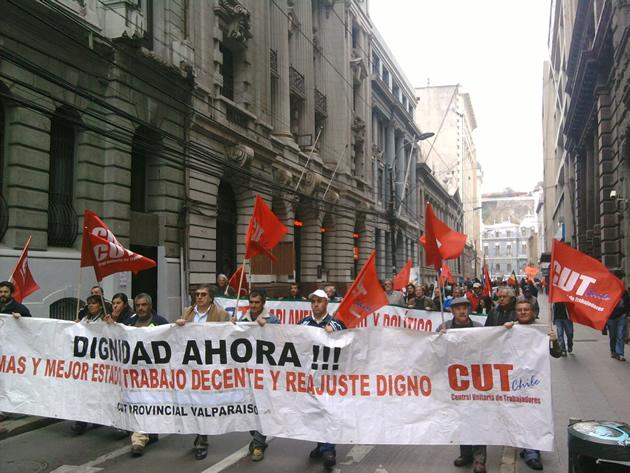 Marcha en Valparaíso | Luis Órdenes