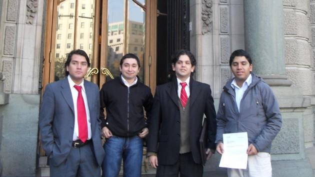 Juventud UDI Metropolitana presentando Requerimiento
