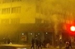 Imagen:Ataque Incendiario | @InformadorChile