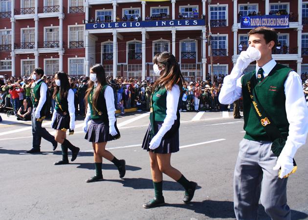 Desfile en Iquique   Vianka Harder