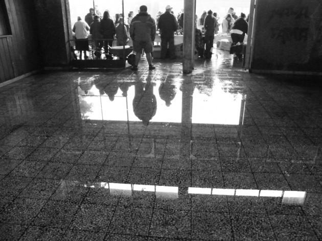 Deplorable estado de Estación Antilhue | José Aedo
