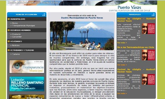Captura de www.ptovaras.cl