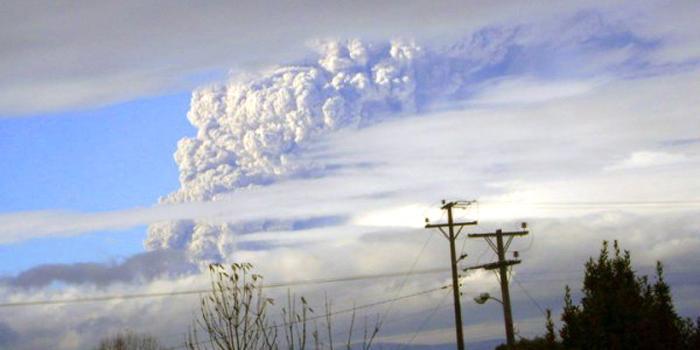 Volcán Puyehue | Miguel Carrasco Y en Twitter