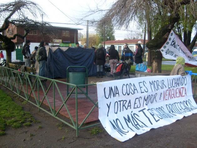 Familias de comuneros trasladadas a Hospital de Victoria   Juan Artigas