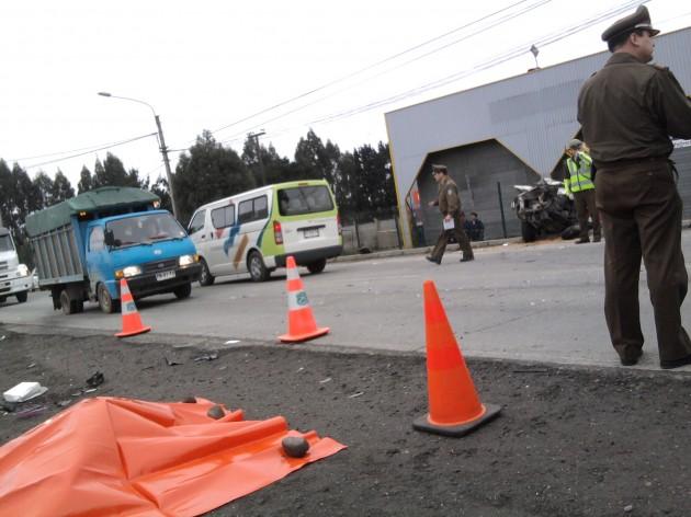 Accidente en Puerto Montt | Sergio Osses