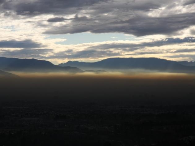 Contaminación en Santiago | Fernando Arrepol