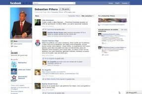 Imagen:Presidente Piñera en Facebook