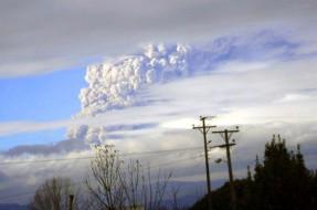 Argentina: Erupción de Volcán Puyehue causa nubes de ceniz