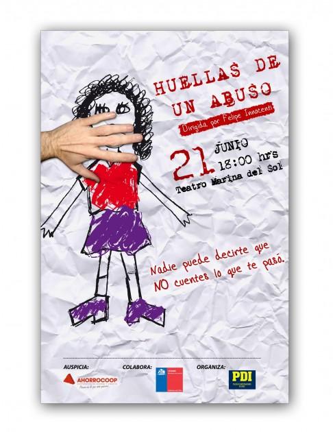 "Obra ""Huellas de un Abuso"""