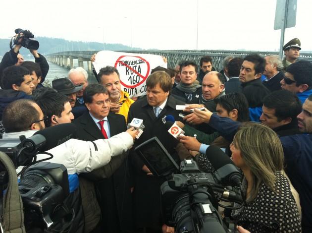 Inauguración puente mecano | Gentileza Rodrigo Chandía