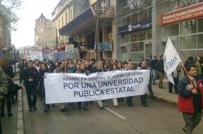 Imagen:Marcha en Temuco | Andrés Pino