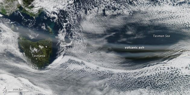 Nube de cenizas sobre Australia | NASA