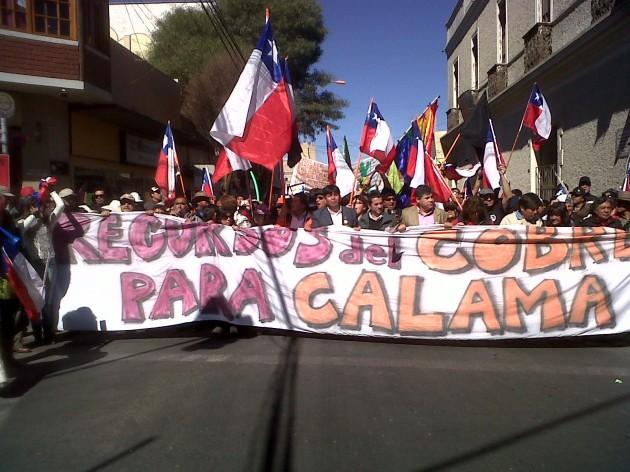 Paro en Calama | Confederación del Cobre