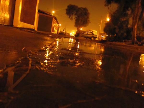 Lluvia en Arica | @AcuariuZ en Twitter