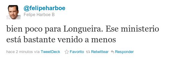 Twitter de Felipe Harboe