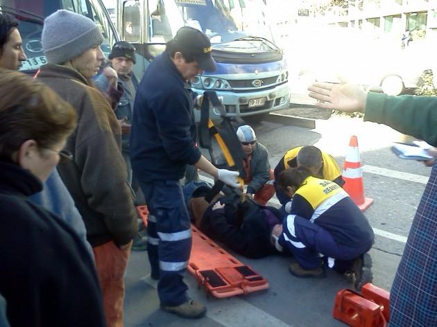 Mujer atropellada en centro de Concepción | Christian Leal