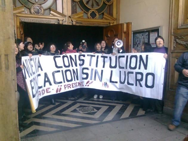 Toma de Catedral en Santiago | Rodrigo Pino