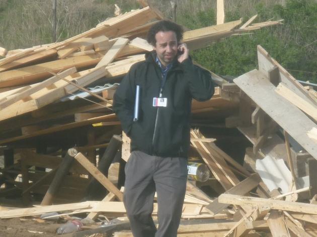 Destrucción de casas en Balneario Pichicuy | Luis Serey