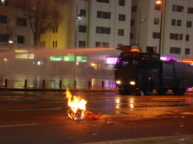 Manifestación en Plaza Italia | Orlando Zamorano