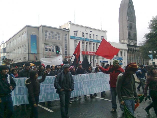Protesta en Osorno | José Aedo