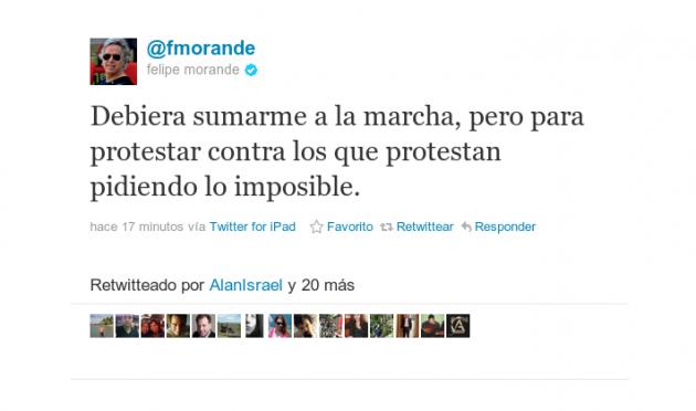 Felipe Morandé | @fmorande en Twitter