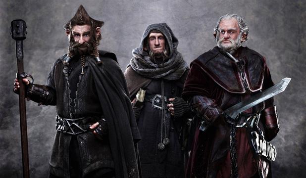 """Enanos de """"El Hobbit""""   Warner Bros"""
