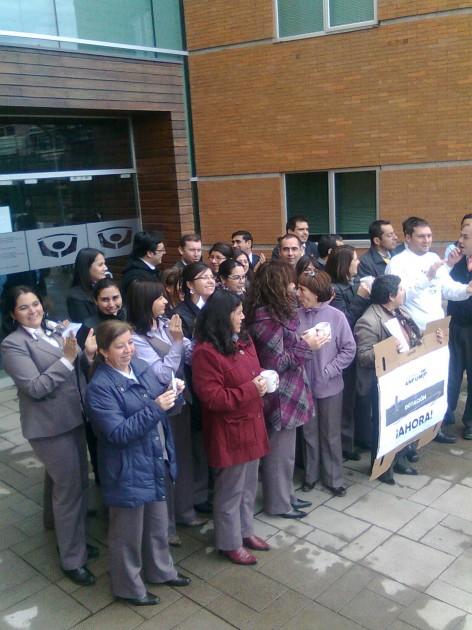 Protesta en Fiscalía de Temuco | Luis Vergara (RBB)