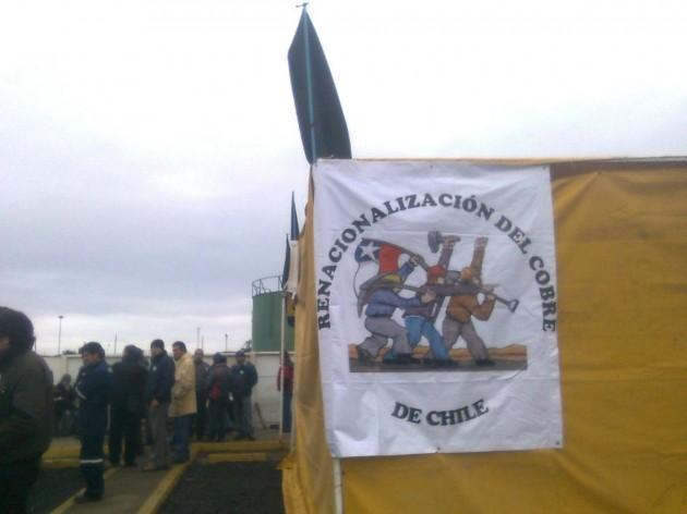 Trabajadores de la división Ventanas | Francisco Ovalle