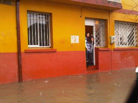 Calle Vilumilla con Maipú en Concepción | @rfviconcepcion vía Twitter