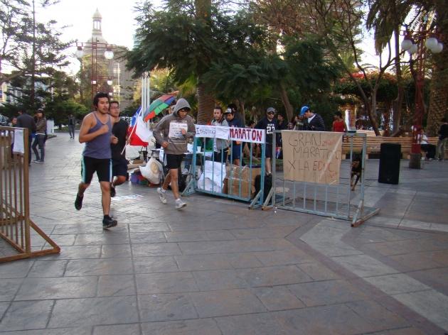 Maratón | Héctor Araya