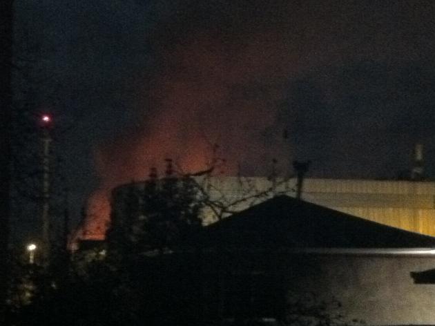 Incendio UAC Rancagua | Fco Solorza
