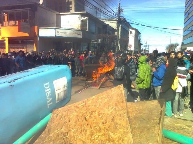 Disturbios | Mauricio Baeza (RBB)