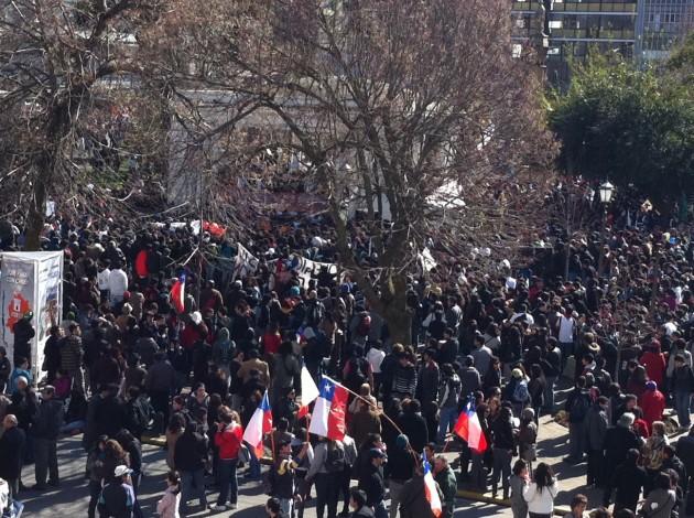Marcha estudiantil en Concepción | Camila �lvarez (RBB)