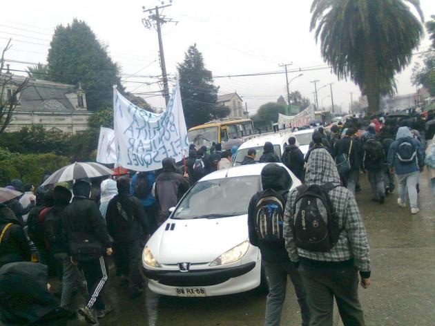 Marcha en Valdivia | Carlos López (RBB)