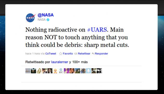 Twitter NASA