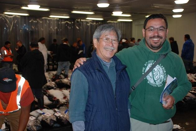 Brooks Takenaka y Albert Arias