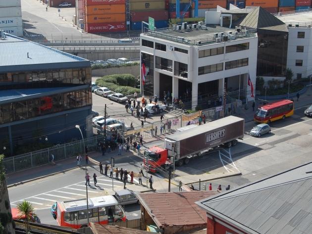 Toma de la Empresa Portuaria de Valparaíso | Yovanny Torres