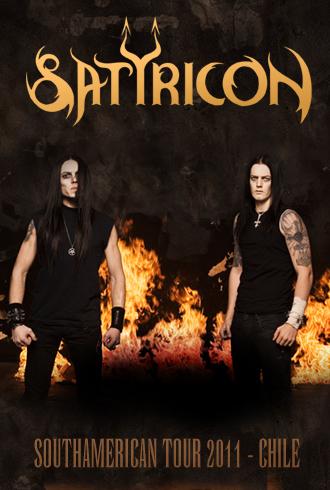 Satyricon en Chile