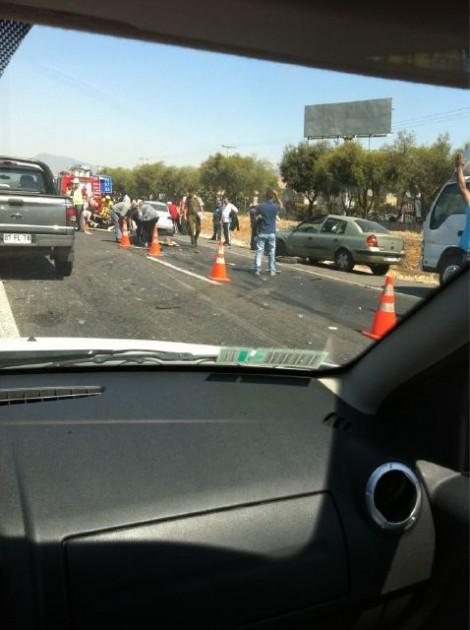 Accidente en Ruta 68 | Belén España vía twitter